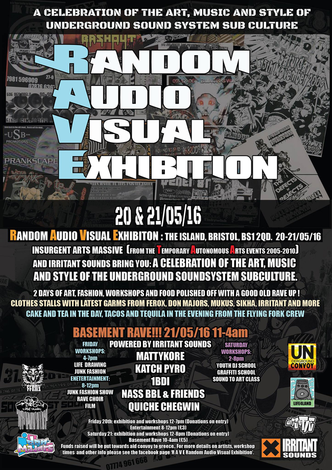 Flyer for RAVE 20-21 May 2016